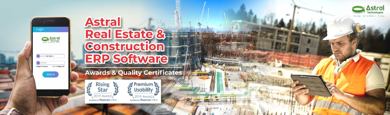 Astral Real Estate & construction ERP